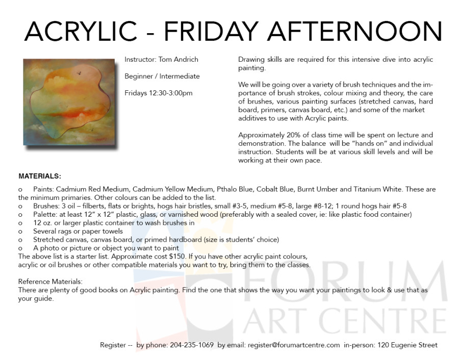 AcrylicsFridays