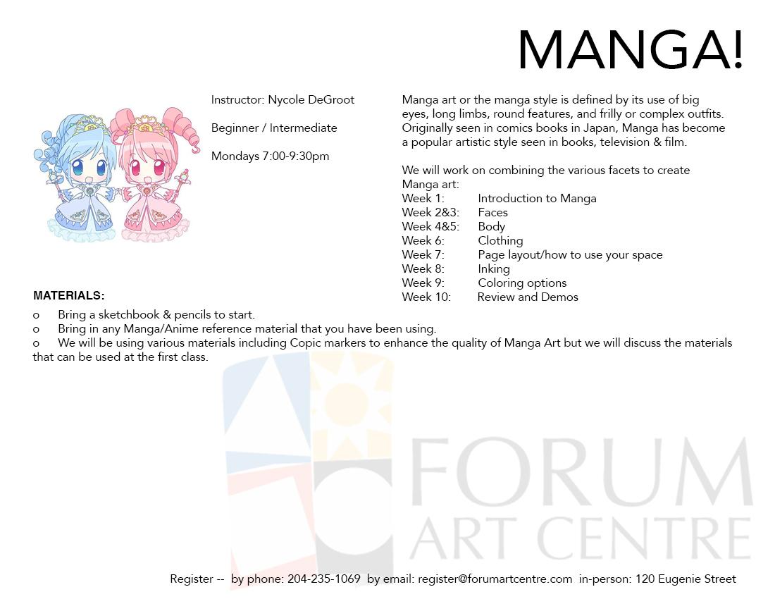 Manga | Forum Art Centre
