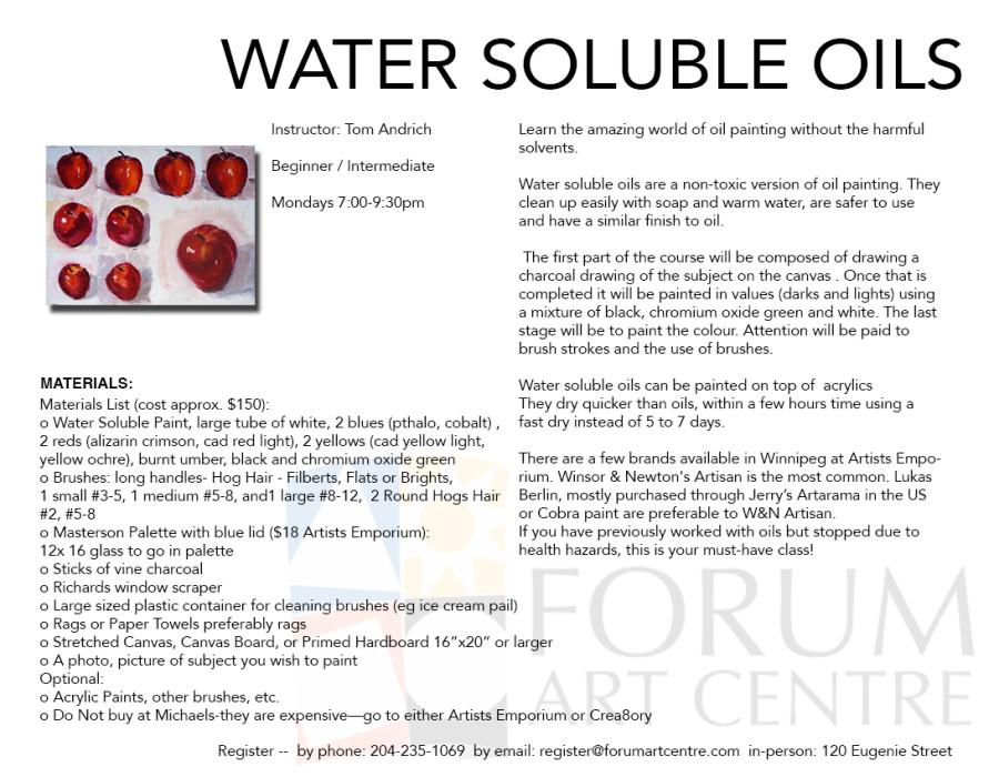 WaterSolubleOils