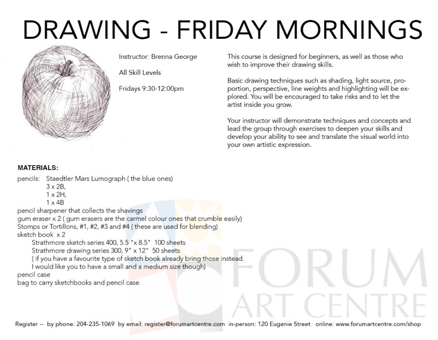 DrawingFridayMornings