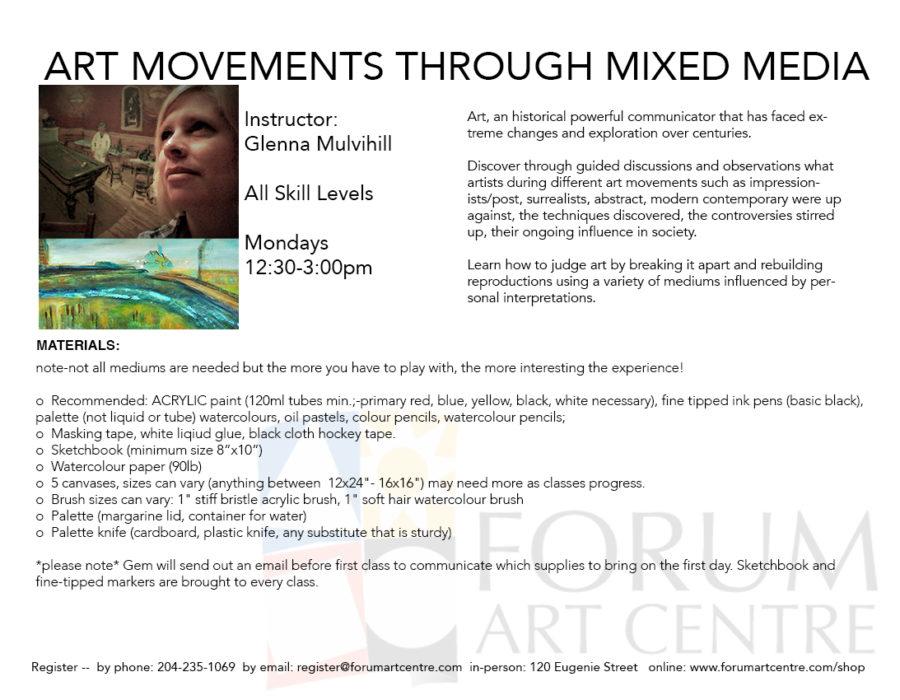 ArtMovementsMixedMedia