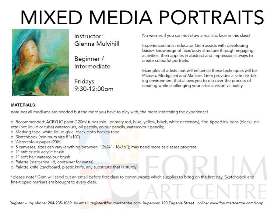 MixedMediaPortraits